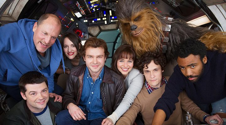 The cast of 'Solo'