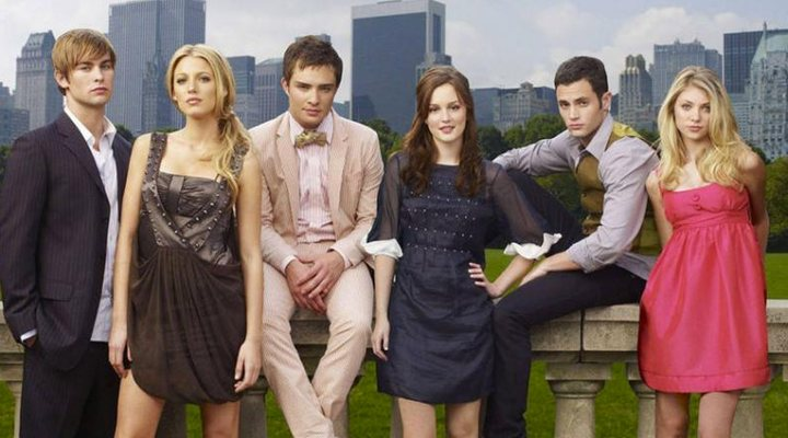 Main cast 'Gossip Girl'