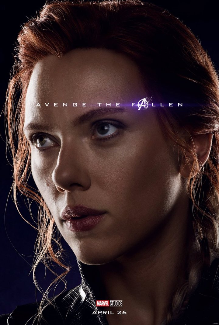 Avengers Endgame Poster Black Widow