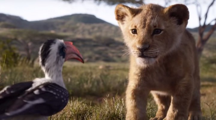 Are live-action remakes like 'The Lion King' eclipsing the traditional hand-drawn animation style?