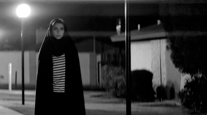 'A Girl Walks Home Alone at Night' is a black-and-white film with a modern take on the vampire subgenre