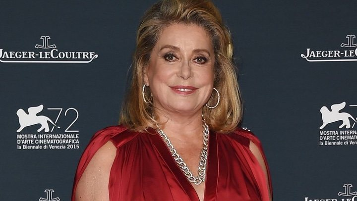 French actress Catherine Deneuve has been hospitalised after a serious illness