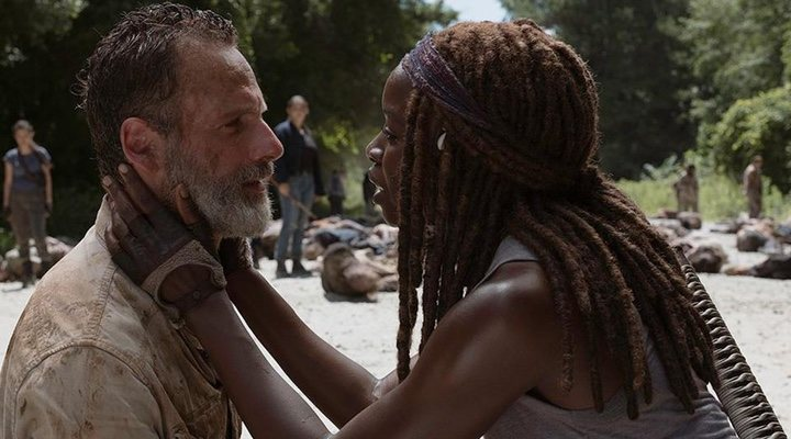 The trilogy of 'The Walking' Dead films are set to focus on Rick Grimes (Andrew Lincoln)