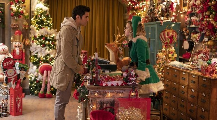 Emilia Clarke and Henry Golding star in 'Last Christmas'
