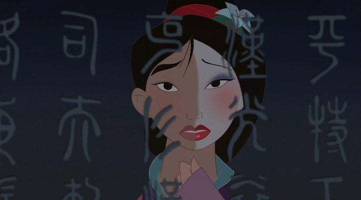 'Mulan' singing 'Reflection' in 'Mulan' (1998)