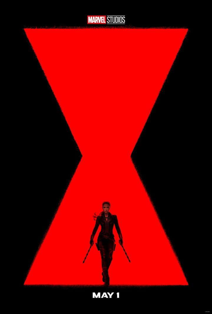 The official poster for 'Black Widow'