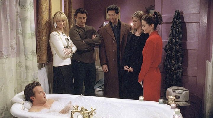 'Friends' tells the story of a time in your life in which friends are your found family