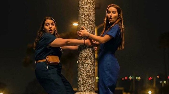 Amy and Molly, the BFFs of 'Booksmart' had us with their very first scene