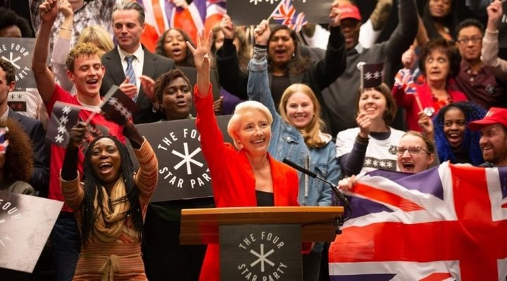 Emma Thompson terrifies as politician Vivienne Rock in 'Years and Years'