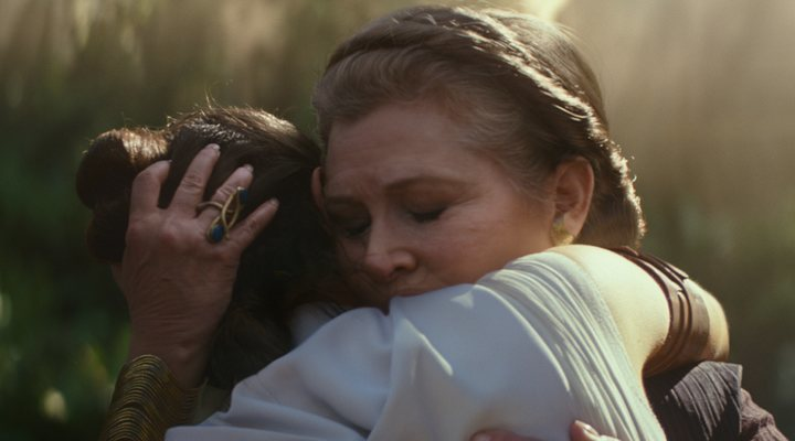 We wanted more from the farewell to Carrie Fisher's Leia Organa