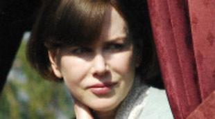 Nicole Kidman cambia de peinado para el rodaje de 'The Railway Man' con Colin Firth