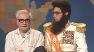 Sacha Baron Cohen tortura a Martin Scorsese para lograr buenas críticas de 'El dictador'