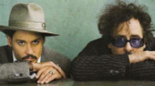 Los ocho Johnny Depp de Tim Burton, de 'Eduardo Manostijeras' a 'Sombras tenebrosas'
