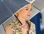 Primer vistazo a Scarlett Johansson como Janet Leigh en el rodaje de 'Hitchcock'