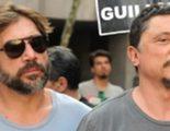 Javier Bardem se une a su hermano Carlos en las multitudinarias manifestaciones contra el gobierno del PP