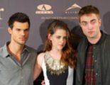 Robert Pattinson, Kristen Stewart y Taylor Lautner alcanzan 'la cúspide' con 'Amanecer: Parte 2'
