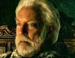 Donald Sutherland ya tiene su retrato como el Presidente Snow de 'Los Juegos del Hambre: En llamas'