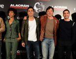Carlos y Javier Bardem, Álex González y Miguel Ángel Silvestre presentan 'Alacrán enamorado'