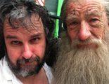 Peter Jackson e Ian McKellen, tristes por la despedida del personaje de Gandalf en 'El Hobbit'