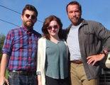 Primera imagen de 'Maggie' con Arnold Schwarzenegger y Abigail Breslin en el set