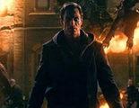 Banner de 'I, Frankenstein', con Aaron Eckhart como el mítico monstruo