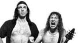 La banda canadiense Anvil en 'The green hornet'