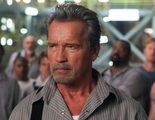 Duelo de miradas entre Arnold Schwarzenegger y Jim Caviezel en un clip exclusivo de 'Plan de escape'