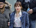 Jamie Dornan y Dakota Johnson comienzan a mostrar su pasión en el set de rodaje de 'Cincuenta sombras de Grey'