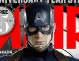 Capitán América se muestra en todo su esplendor en la portada de la revista Empire