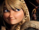 Astrid y Torméntula protagonizan el nuevo póster de 'Cómo entrenar a tu dragón 2'