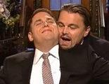 Leonardo DiCaprio y Jonah Hill rememoran una mítica escena de 'Titanic'