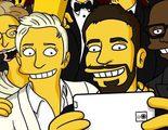 Oscar 2014: Homer Simpson también quiso salir en el 'selfie' de Ellen DeGeneres