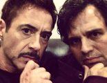 Mark Ruffalo y Robert Downey Jr. publican nuevas fotos del rodaje de 'Los Vengadores: La era de Ultron'