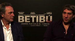 """José Coronado y Alberto Ammann: """"Nos apetecía trabajar juntos y 'Betibú' fue la oportunidad"""""""