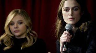 Keira Knightley aconseja a Chlöe Grace Moretz en el nuevo tráiler de 'Laggies (Say When)'