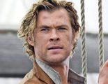 Chris Hemsworth y su tripulación al límite en el nuevo tráiler de 'En el corazón del mar'