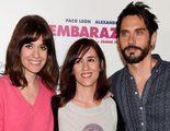 Paco León, Alexandra Jiménez y Juana Macías presentan el rodaje de 'Embarazados'
