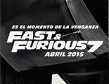 Primer teaser póster en español de 'Fast & Furious 7'