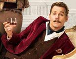 Johnny Depp es un granuja encantador en el nuevo cartel y tráiler de 'Mortdecai'