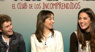 """Michelle Calvó, Patrick Criado y Andrea Trepat de 'El club de los incomprendidos': """"No hace falta vender la película, apetece verla"""""""