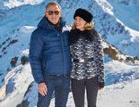 Daniel Craig y Léa Seydoux posan juntos en la nieve en las nuevas imágenes de 'Spectre'