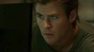 Chris Hemsworth saca su lado sentimental en un clip exclusivo de 'Blackhat: Amenaza en la red'
