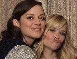 Los candidatos a los Oscar 2015 posan en la foto grupal durante el almuerzo de los nominados
