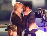 El beso de Nicole Kidman y Chiwetel Ejiofor en el rodaje del remake de 'El secreto de sus ojos'