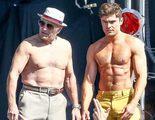 Zac Efron reta con sus abdominales a Robert De Niro en el rodaje de 'Dirty Grandpa'
