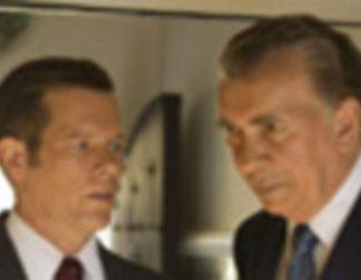Cartel en castellano de \'El desafío: Frost contra Nixon\'