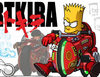 'Bartkira' es el resultado de unir 'Los Simpson' y 'Akira'