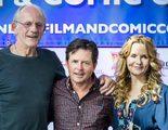 Michael J. Fox, Christopher Lloyd y Lea Thompson se reúnen para celebrar los 30 años de 'Regreso al Futuro'