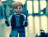 Chris Pratt pasea su muñeco de LEGO de 'Jurassic World' por todo el mundo