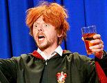 Ron Weasley se emborracha para celebrar el cumpleaños de Harry Potter